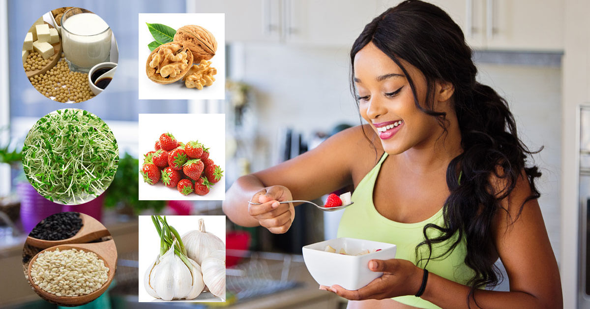Thực phẩm tốt cho tử cung phụ nữ