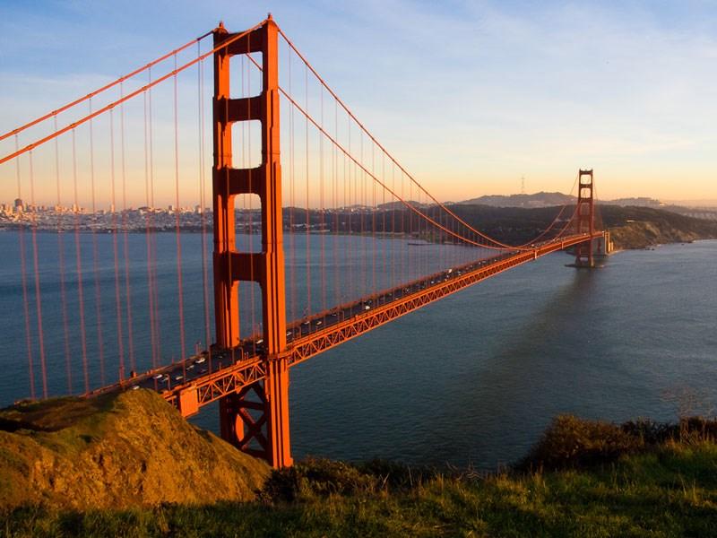 Cầu Cổng vàng nước mỹ