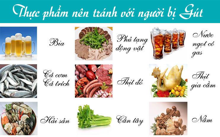 Chế độ ăn để không mắc bệnh gút