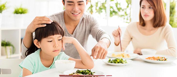 Chế độ ăn uống đủ chất cho trẻ biếng ăn