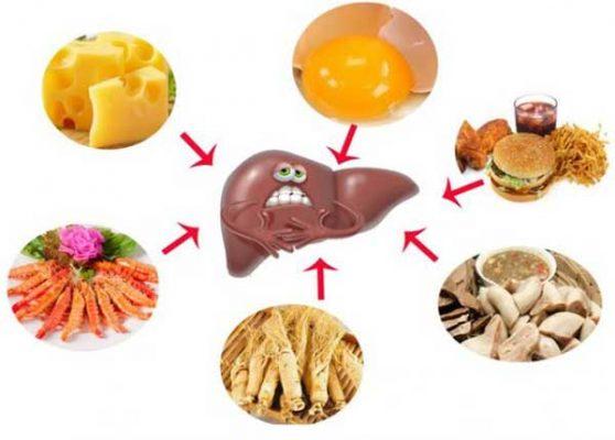 Chế độ ăn uống tốt cho người bênh gan