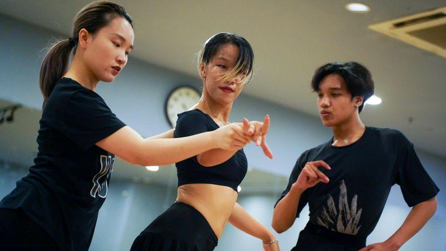 người tập Dancesport