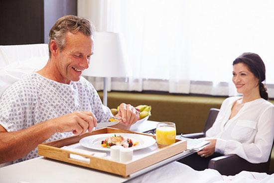 Chia sẻ chế độ dinh dưỡng cho người bệnh mau phục hồi