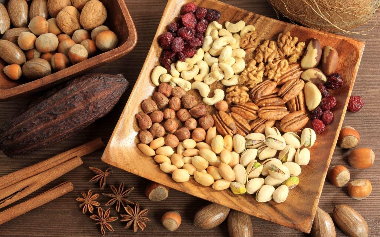 Lợi ích của các loại hạt đối với người bị tiểu đường