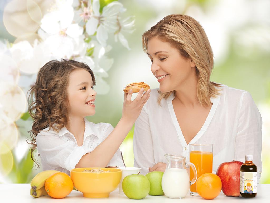 Tăng sức đề kháng cho trẻ nhỏ bằng cách cung cấp đủ dinh dưỡng