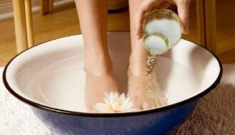 mẹo chữa nước ăn chân